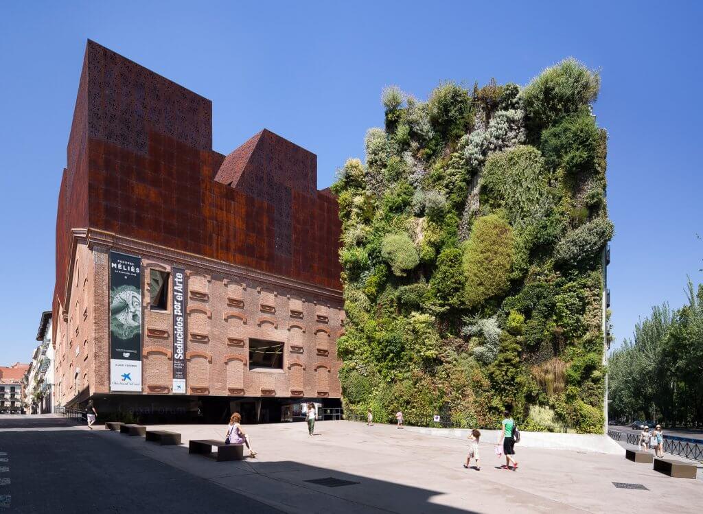 Caixa Forum de Madrid.