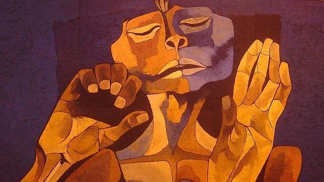 El camino del llanto, de Oswaldo Guayasamín.