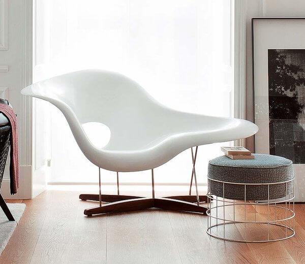 Características de la silla Chaise.