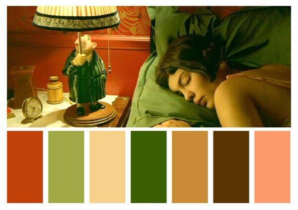 Colores de Amélie.