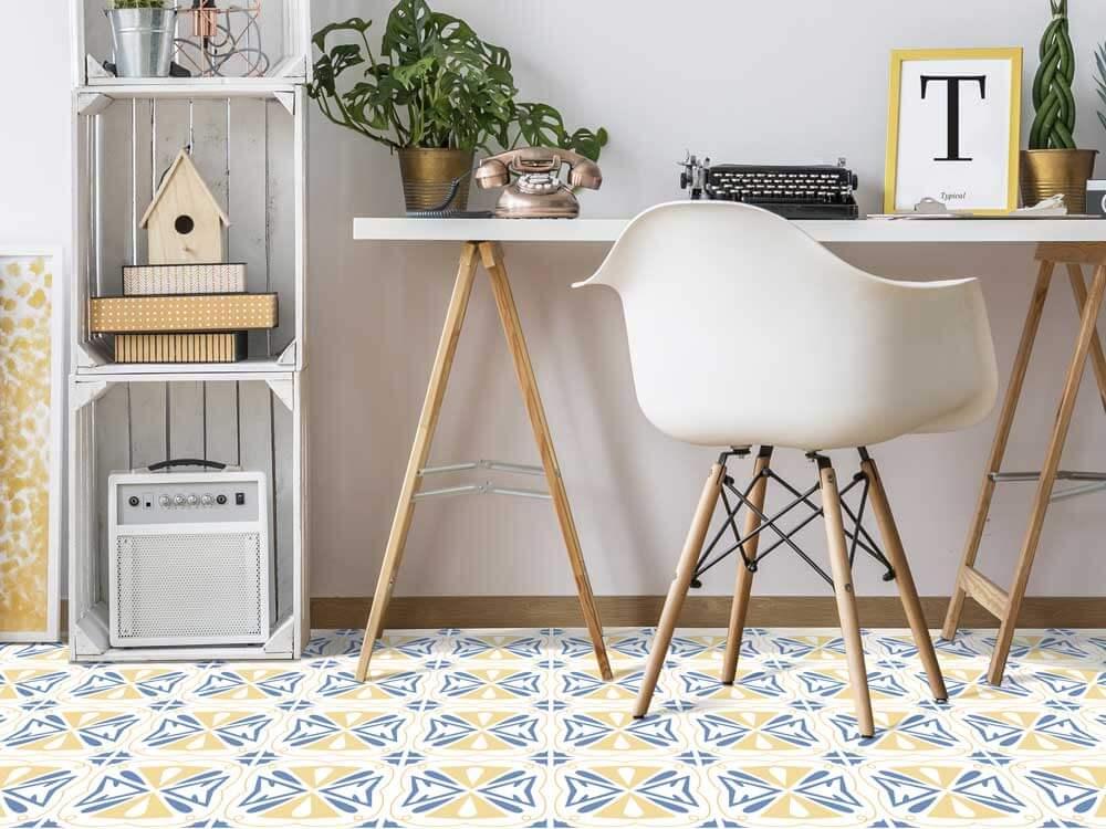 Ideas para combinar distintos materiales en el suelo de tu hogar