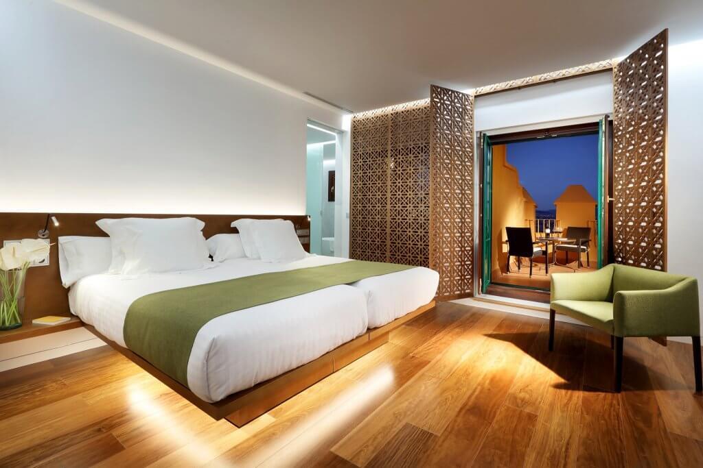 Habitaciones del hotel Alhambra Palace