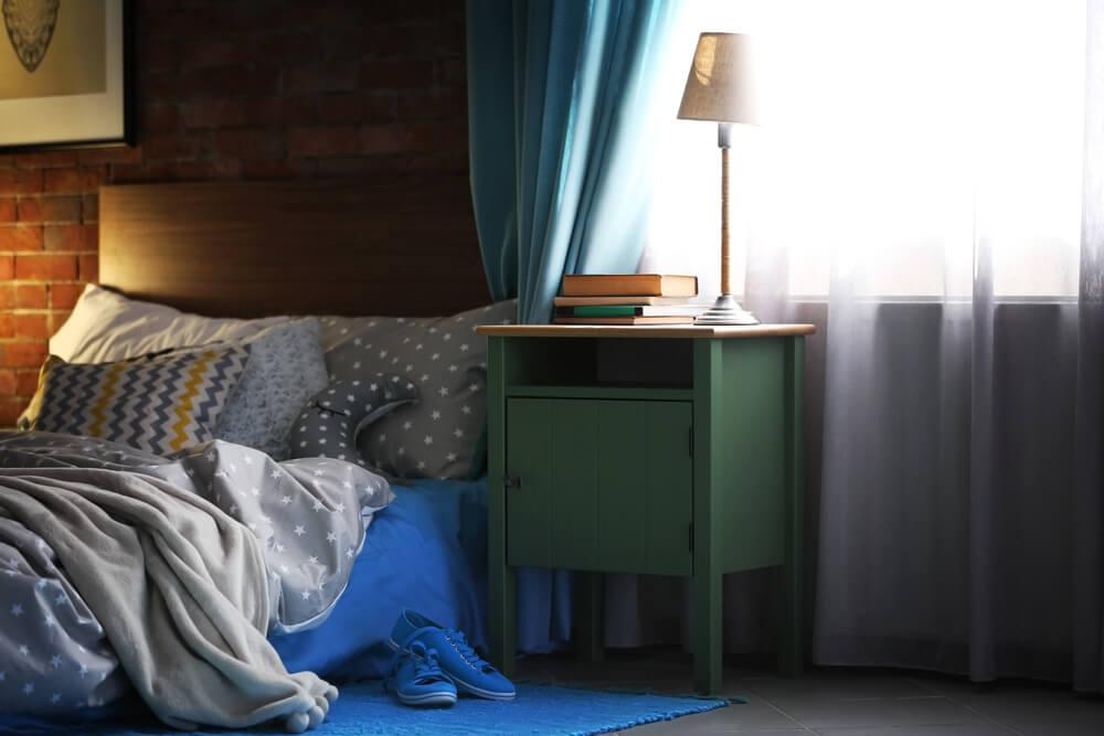 Luminosidad para un dormitorio pequeño.