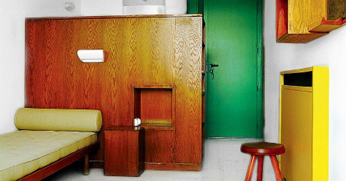 Mobiliario de dormitorio de Charlotte Perriand.