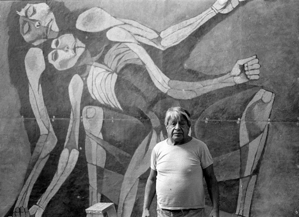 El arte mestizo de Oswaldo Guayasamín
