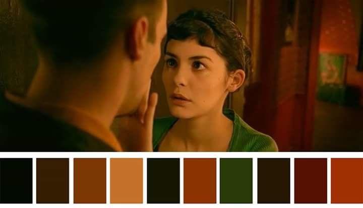 Paleta cromática Amélie.
