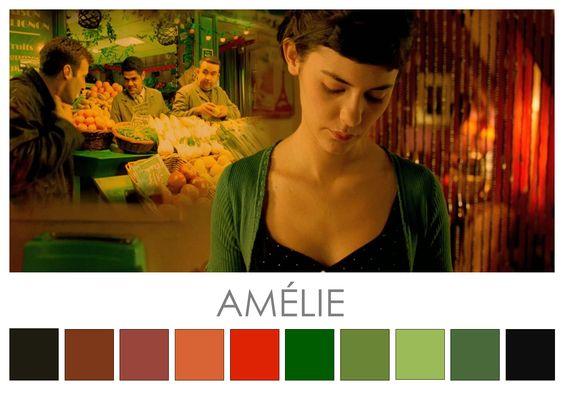 Los colores del mundo de Amélie Poulain