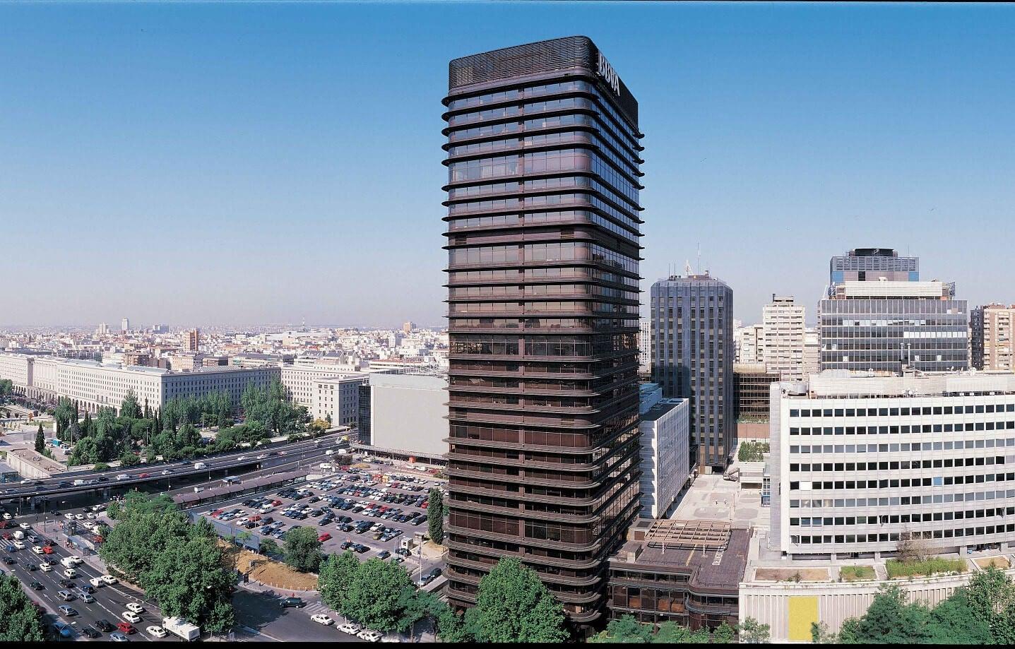 Torre BBVA en Madrid.