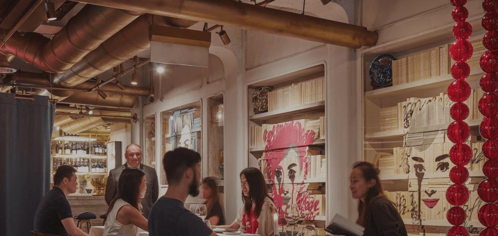 Murales y Grafittis en restaurantes