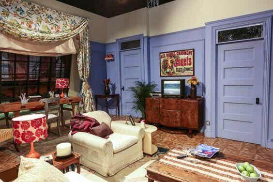 El apartamento de Friends, un diseño que aún inspira