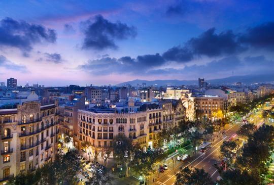 Hotel Mandarín, Barcelona