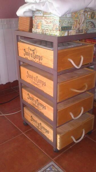 Qué hacer con cajas de vino