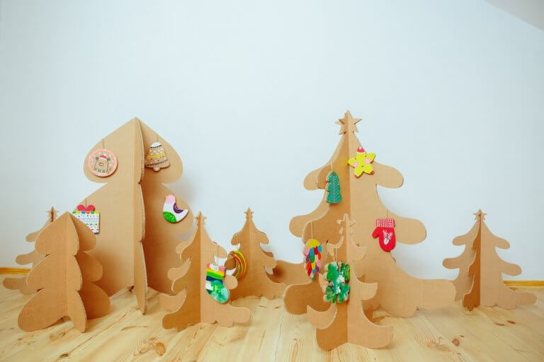 Decoración navideña sostenible para tu hogar