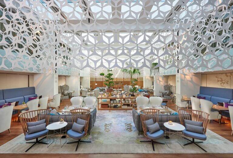 El diseño interior del hotel Mandarín Oriental