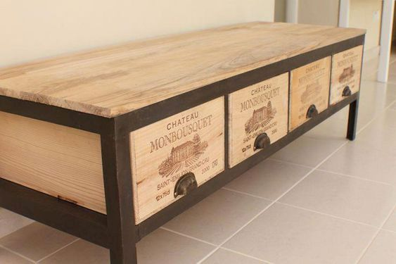 Tipos de cajas de vino y sus posibles usos en decoración