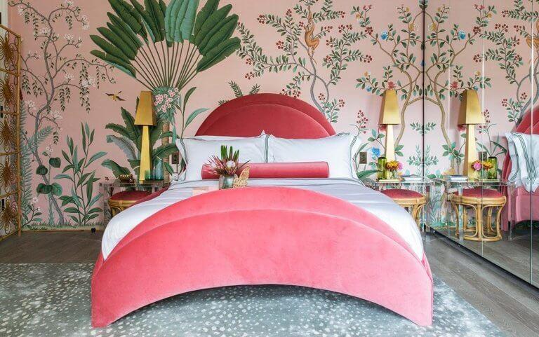 Cómo utilizar los estampados tropicales en decoración