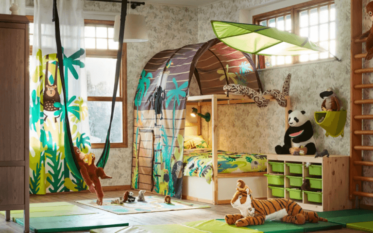 Muebles Ikea que fomentan la creatividad infantil