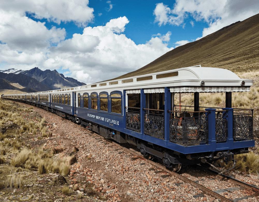Itinerarios del tren más lujoso de Latinoamérica