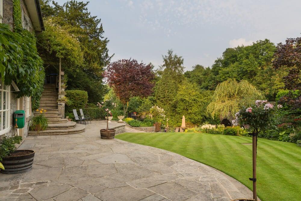 Jardín de campo: dinámico y creativo