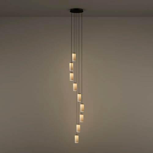 Tipos de lámparas cascada