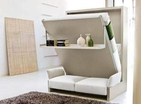 Mobiliario modular para pequeños apartamentos