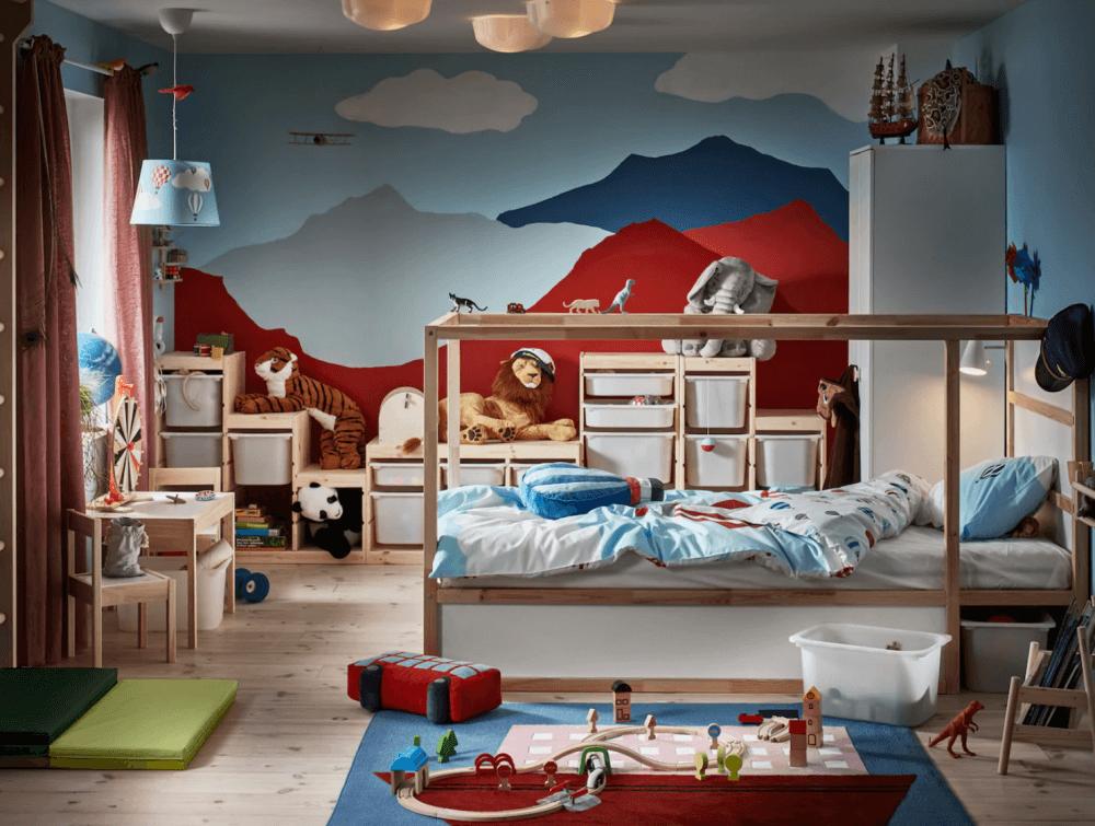 Muebles Ikea para fomentar la creatividad
