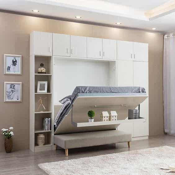 Muebles que se transforman para ahorrar espacio