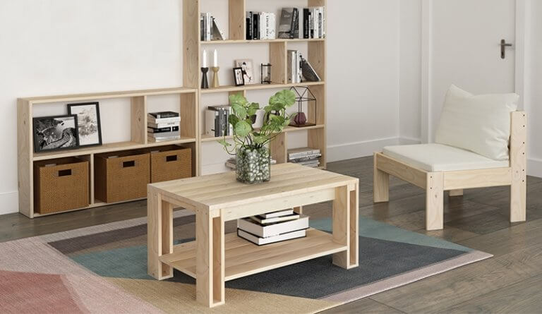 Muebles de madera ecológica, una alternativa sostenible