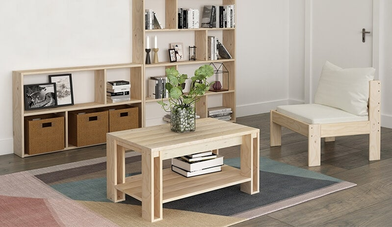 Muebles de madera ecológica, una alternativa sostenible