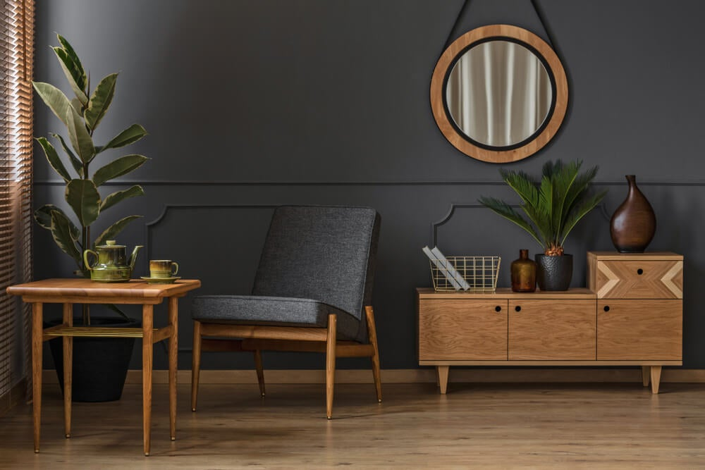 Muebles de madera en las tendencias 2020