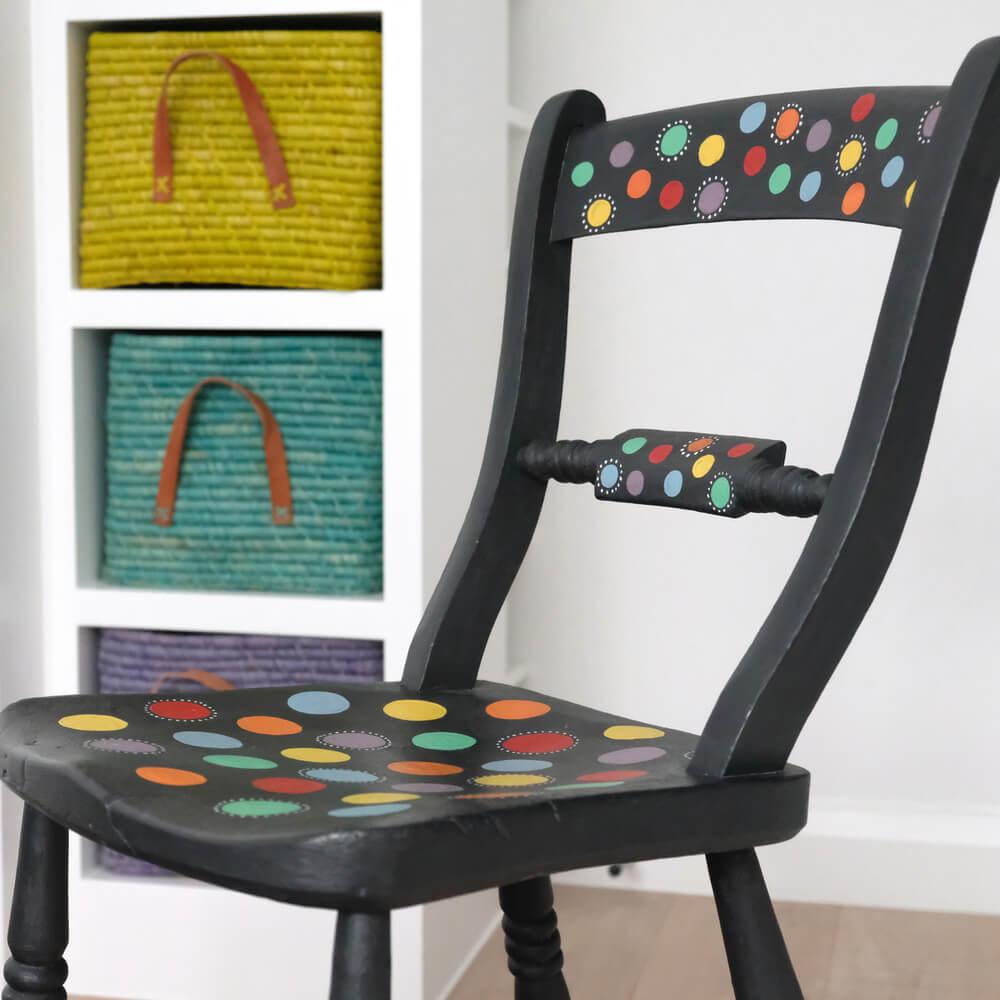 Pintar muebles con pizarra a la tiza