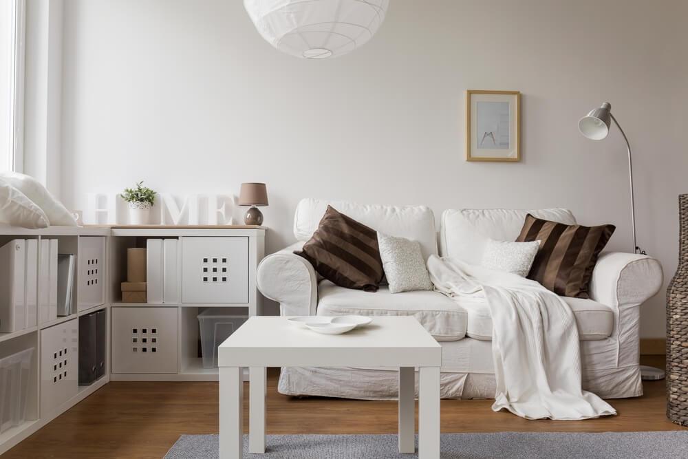 Tipos de sofás para un salón pequeño