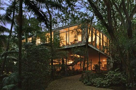 La casa de vidrio de Lina Bo Bardi