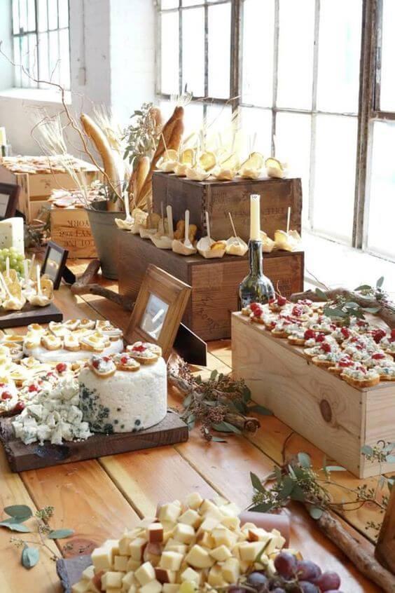 Cómo organizar un buffet en casa