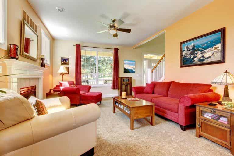 Maneras de aplicar el color rojo en tu hogar