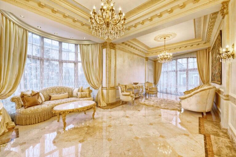 Decora tu hogar con un estilo más glamuroso