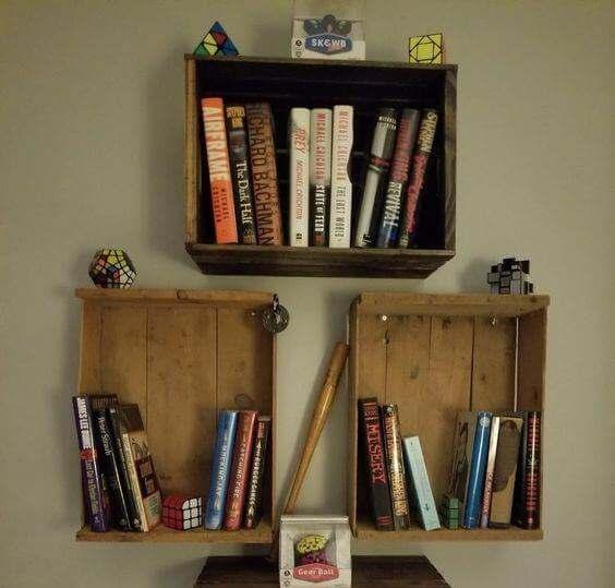 5 libreros originales para tu casa
