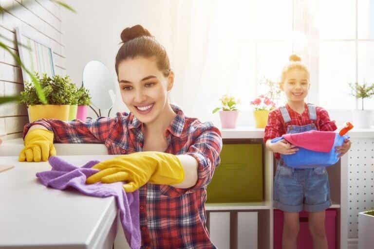 Pautas para limpiar la casa en tiempo récord