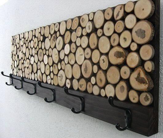 Mural de teca