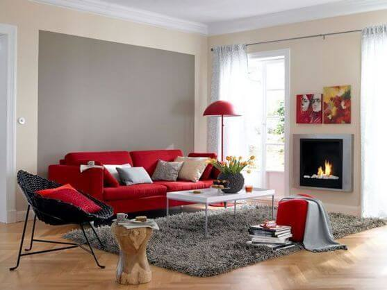 Cómo aplicar el rojo en el hogar