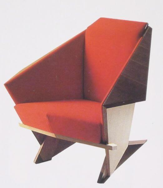 Taliesin, la silla de Wright
