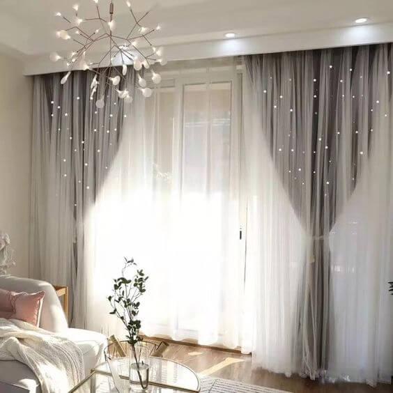 Renovar el dormitorio: las cortinas
