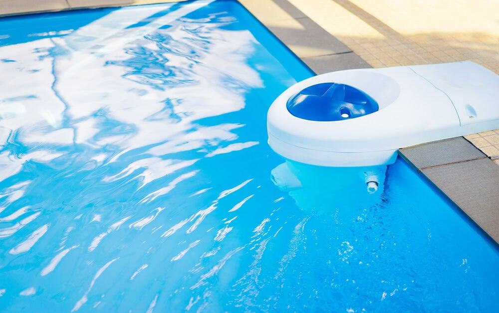 Filtro del agua de la piscina