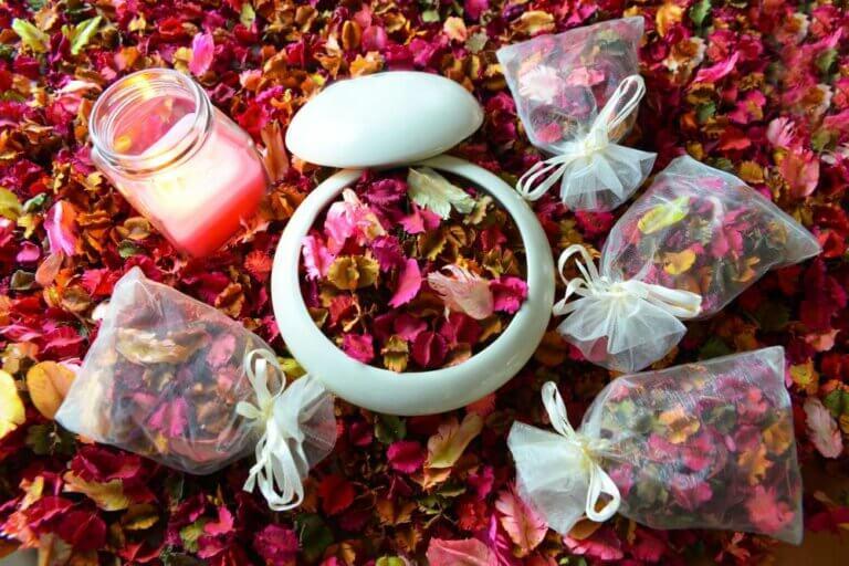 Popurrí floral: una idea decorativa que huele muy bien