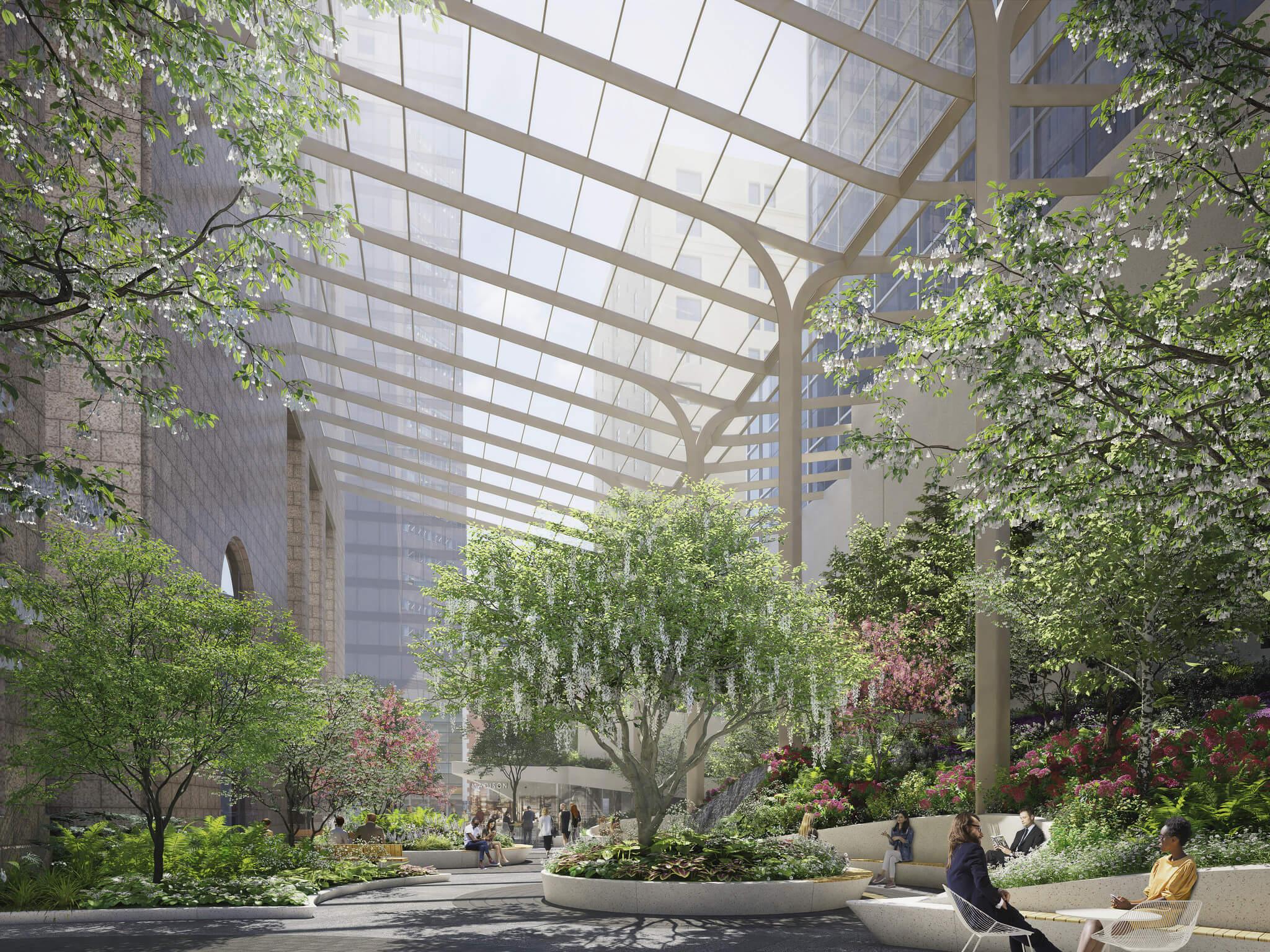Proyectos más esperados del 2020: 550 Madison Garden