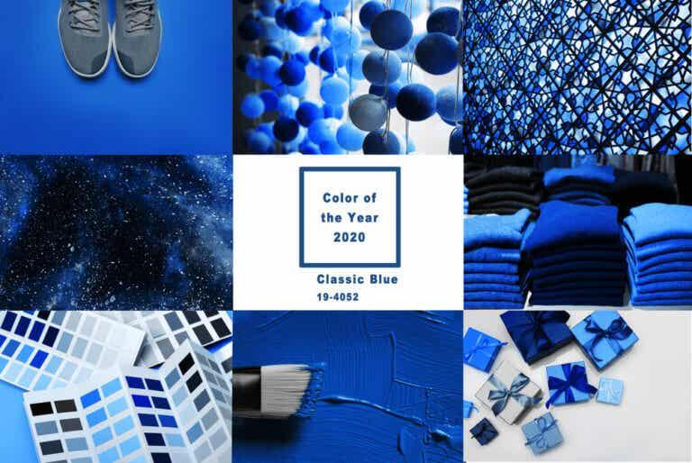 Aprende a combinar el Classic Blue, el color del año según Pantone