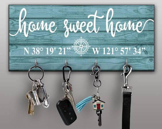 Claves para crear tu propio colgador de llaves