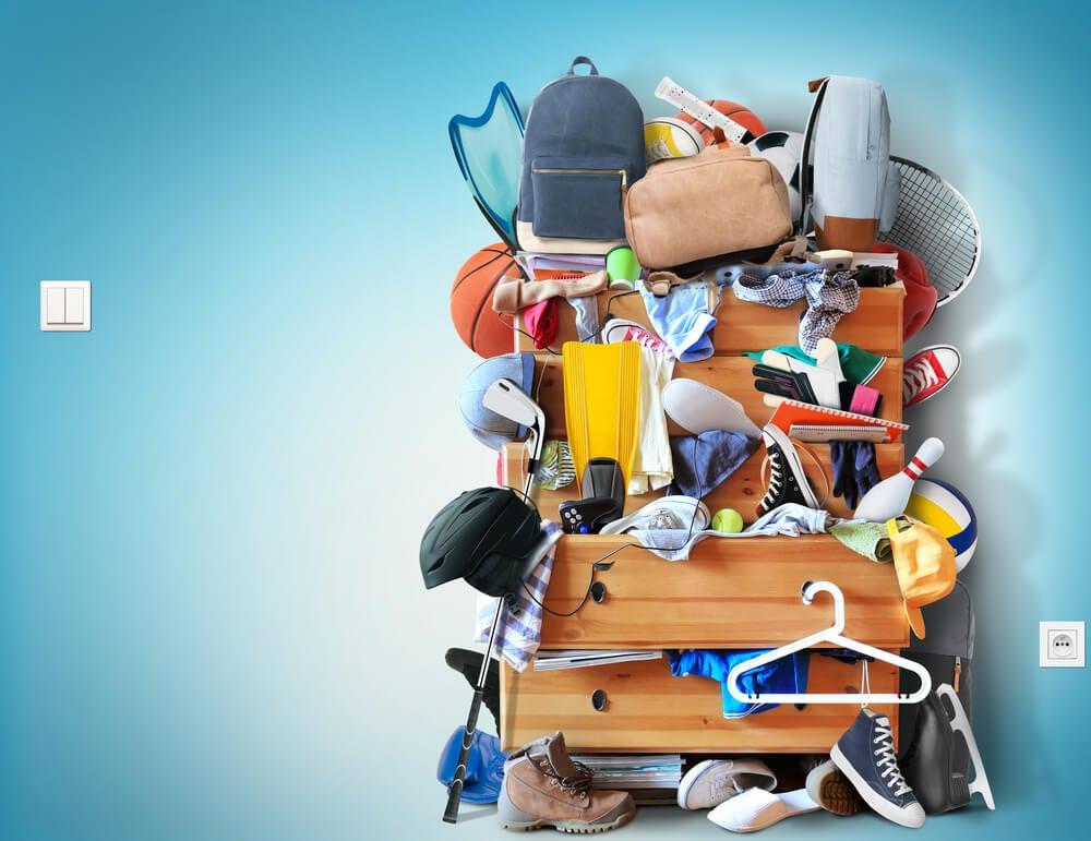 Reorganizar armarios