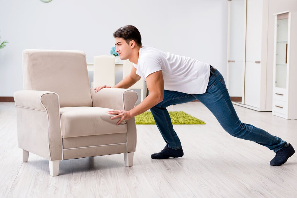 redecorar tu casa después de una ruptura: redistribuir muebles