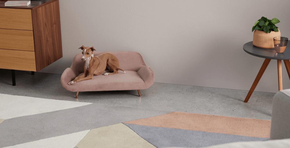 Mobiliario para tu mascota: Sofá Moby. Made